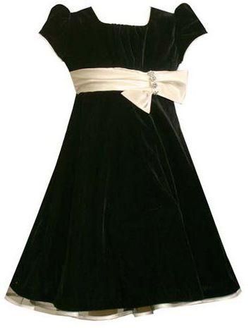 Bonnie jean 7-16 panne dress