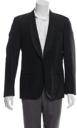 Lanvin Wool Shawl-Collar Tuxedo Jacket black Wool Shawl-Collar Tuxedo Jacket