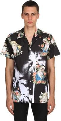 Romeo Printed Bowling Shirt