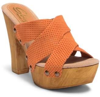 Sbicca Adina Platform Heel Sandal