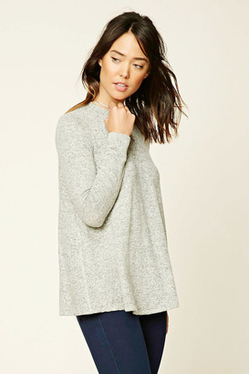 FOREVER 21+ Marled Knit Sweater $19.90 thestylecure.com