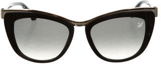 Swarovski Diva Cat-Eye Sunglasses $145 thestylecure.com