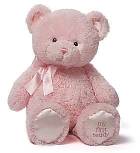 Gund Extra Large Plush My First Teddy