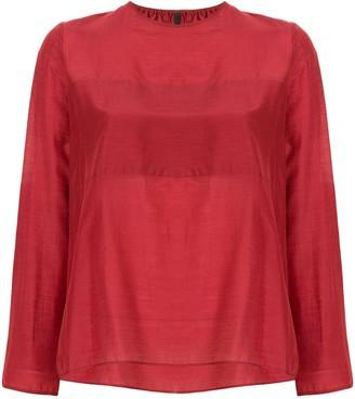 Sara Lanzi round neck blouse