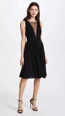 No.21 No. 21 V Neck Mesh Dress