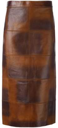 Tom Ford panelled midi skirt