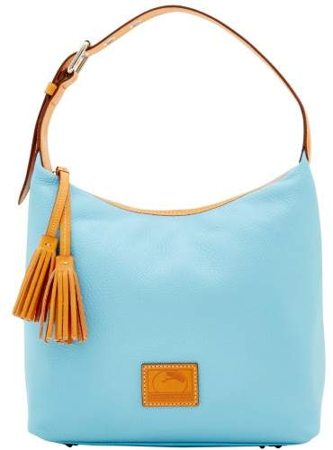 Dooney & Bourke Patterson Leather Paige Sac Shoulder Bag - CARIBBEAN BLUE - STYLE