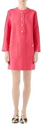 Gucci Compact Jersey Shift Dress