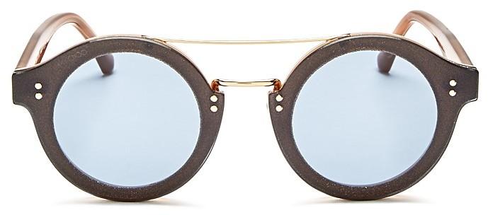Jimmy ChooJimmy Choo Montie Round Sunglasses, 65mm