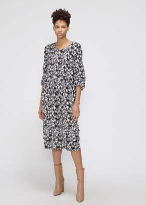 Comme des Garcons 3/4 Sleeve Floral Dress
