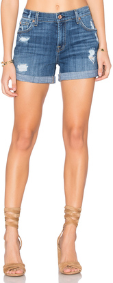 7 For All Mankind Relax Mid Roll Short $169 thestylecure.com