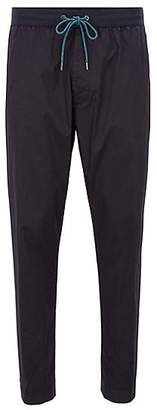 HUGO BOSS Relaxed-fit stretch-cotton chinos with drawstring waist