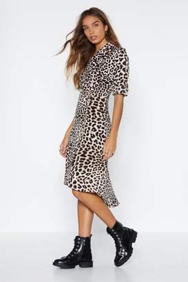 Nasty Gal You Go Grr-l Leopard Dress