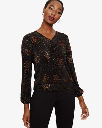 45d3c207178c5f Long Sleeve Gold Top - ShopStyle UK