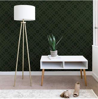 Deny Designs Marta Barragan Camarasa Vintage Emerald Pattern Wallpaper