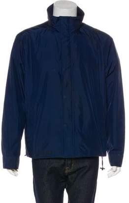 Burberry Woven Zip Jacket