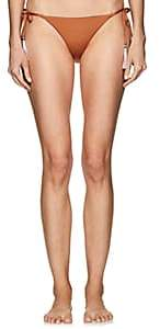 Skin SKIN WOMEN'S JOAN REVERSIBLE STRING BIKINI BOTTOM - BRNZE/BRGNDY SIZE XS