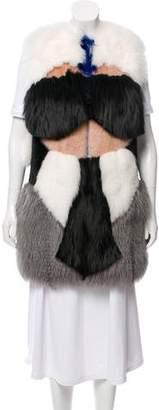 Fendi Fur Patchwork Vest