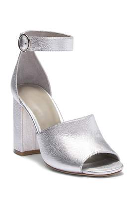 Joie Lahoma Leather Block Heel Sandal