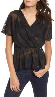 WAYF Dean Mesh Lace Top