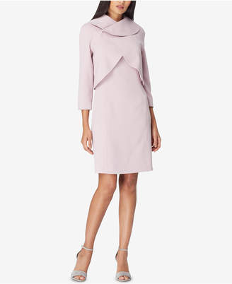 Tahari ASL Envelope-Collar Jacket & Dress Suit