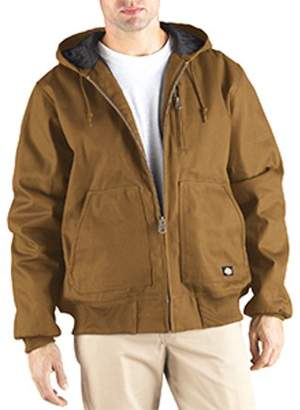 Dickies Big & Tall Men's Rigid Duck Hooded Jacket