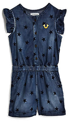 True Religion TODDLER/LITTLE KIDS STAR TR ROMPER