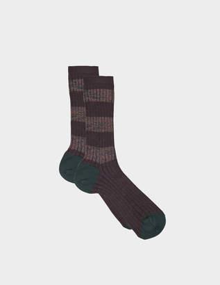 Maria La Rosa Striped socks