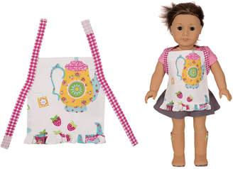 Handstand Kids Tea Party Kids Doll Apron