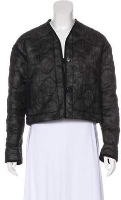 Maison Margiela Silk Insulated Jacket