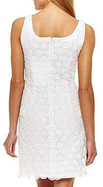 JCPenney Lace Sheath Dress