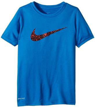 Nike Dry Short Sleeve Training T-Shirt Molten Boy's T Shirt