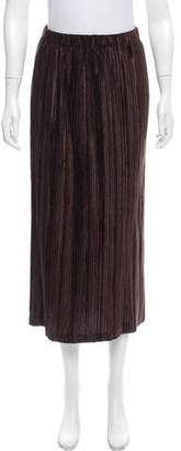 Issey Miyake Plisse Midi Skirt