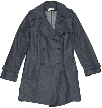 Alberto Biani Blue Denim - Jeans Coats