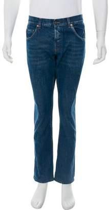 Gucci Cropped L'Aveugle Par Amour Jeans