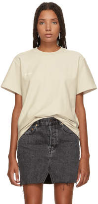 Vetements White Regular Inside-Out T-Shirt