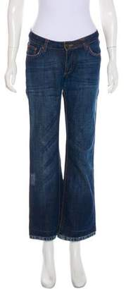 Just Cavalli Low-Rise Wide-Leg Jeans