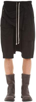 Rick Owens Light Cotton Jersey Shorts