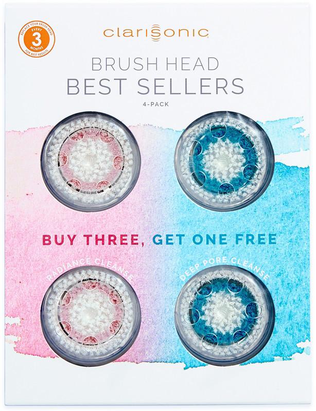 ClarisonicClarisonic Brush Head Best Sellers 4-Pack