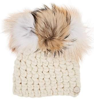 Mischa Lampert Women's Crown Merino Wool Beanie - White