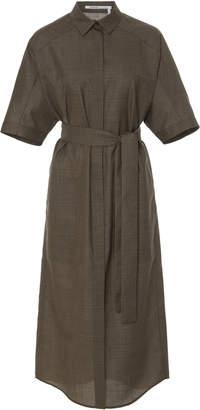 Agnona Belted Shirt Dress