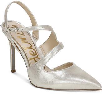 Sam Edelman Hollyn Strappy Slingback Pumps Women Shoes