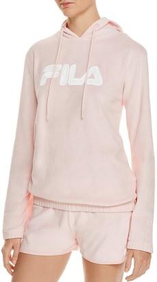 FILA Franca Hooded Logo Sweatshirt $70 thestylecure.com
