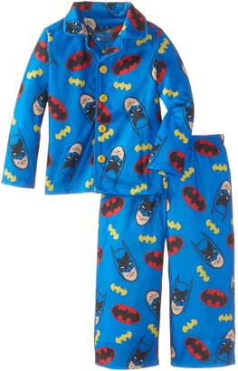 Batman Komar Kids Little Boys' Button Front Pajama Set