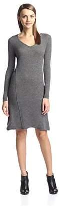 Cashmere Addiction Women's Swing Sweater Dress