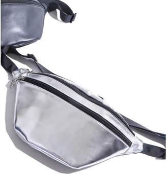 WEGO (ウィゴー) - WEGO ダブルジップ合皮ウエストバッグ