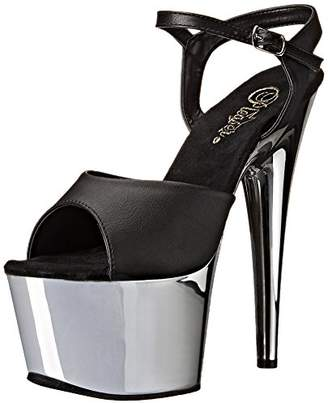 Pleaser USA ADO709/BPU/SCH Women's Platform Dress Sandal