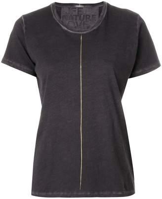 Freecity contrast stripe T-shirt