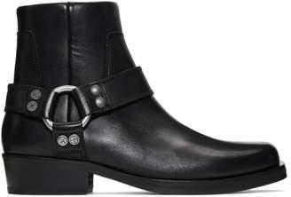 Diesel Black D-Bioys Boots