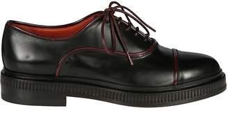Santoni Leather Edged Oxford Shoes